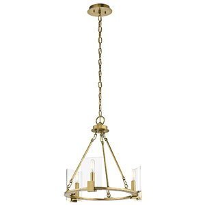 Ehlers 3-Light Candle-Style Chandelier