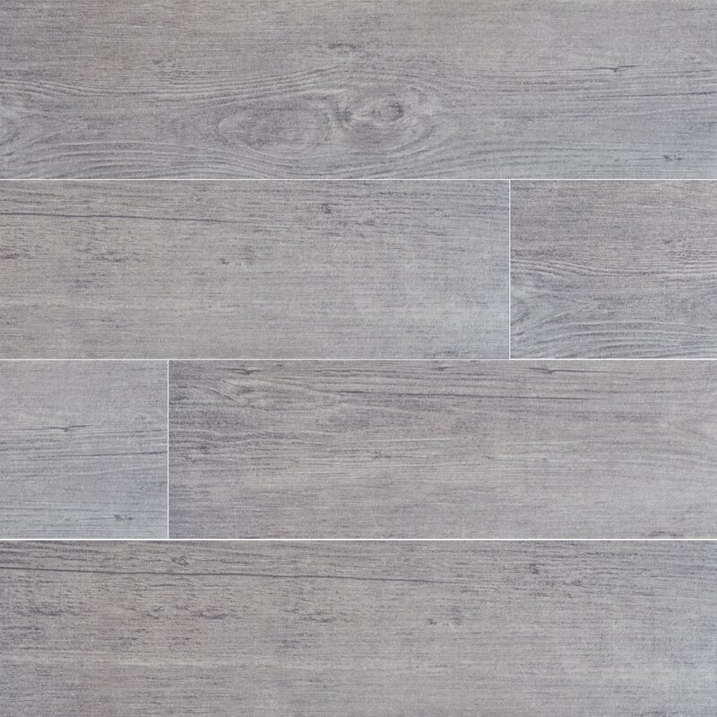 Sonoma Driftwood 6 X 24 Ceramic Wood Look Tile In Gray Reviews