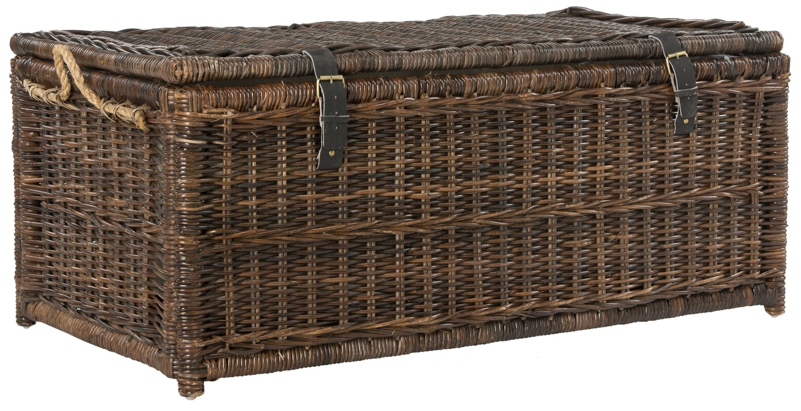Ammann Wicker Storage Trunk