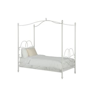 Girls Twin Canopy Bed Wayfair