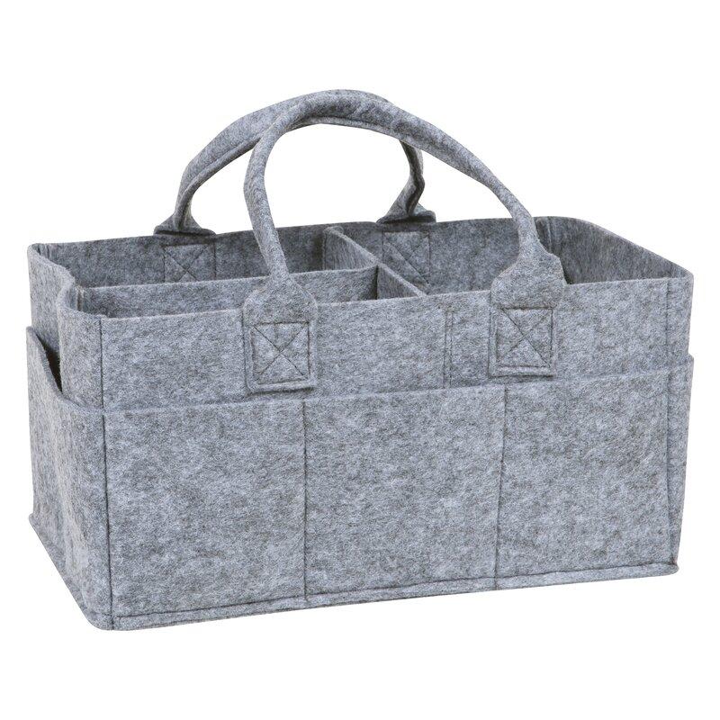 Bon Felt Fabric Storage Basket