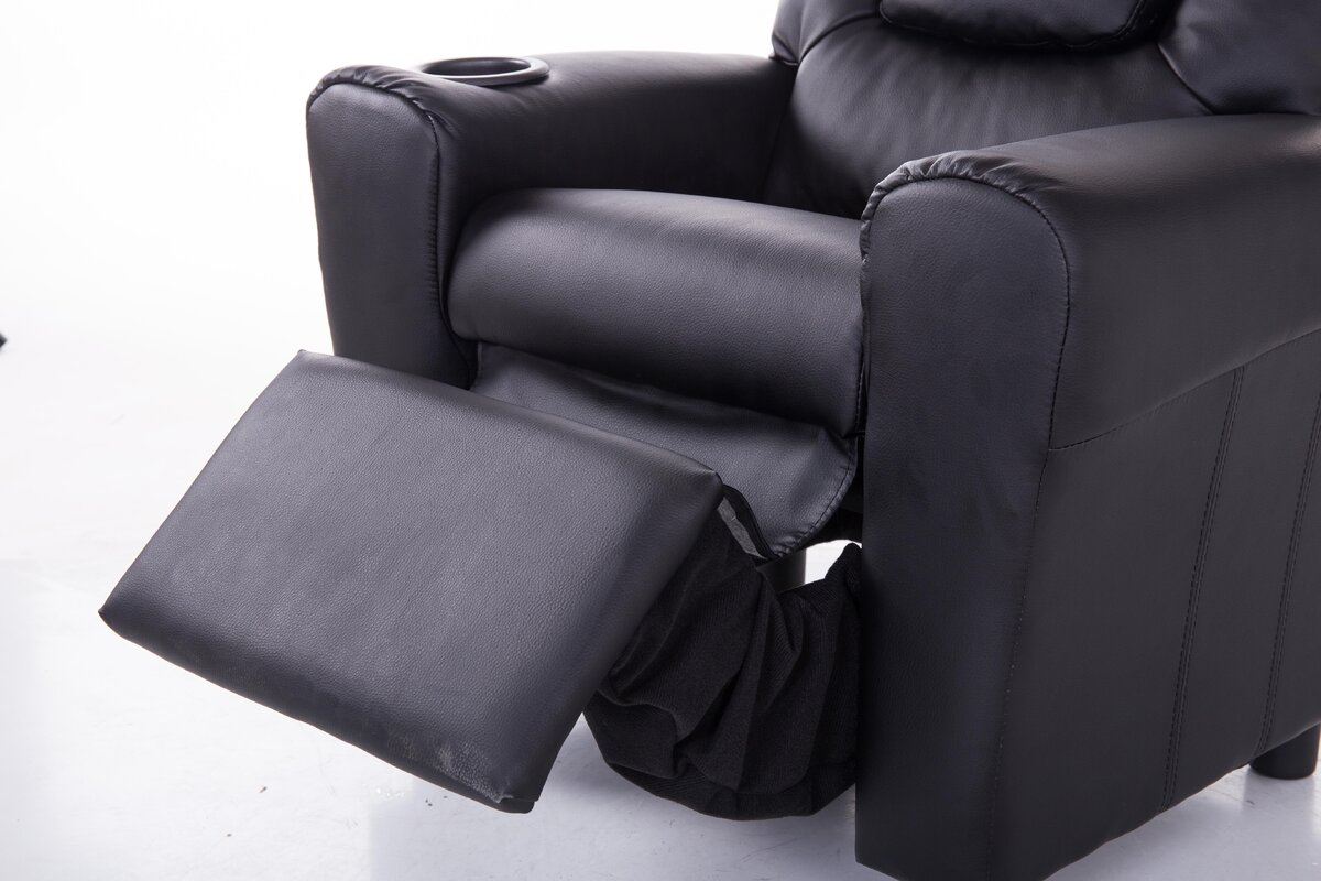 kids with alibaba wholesale headrest sofa suppliers showroom recliner holder and cup