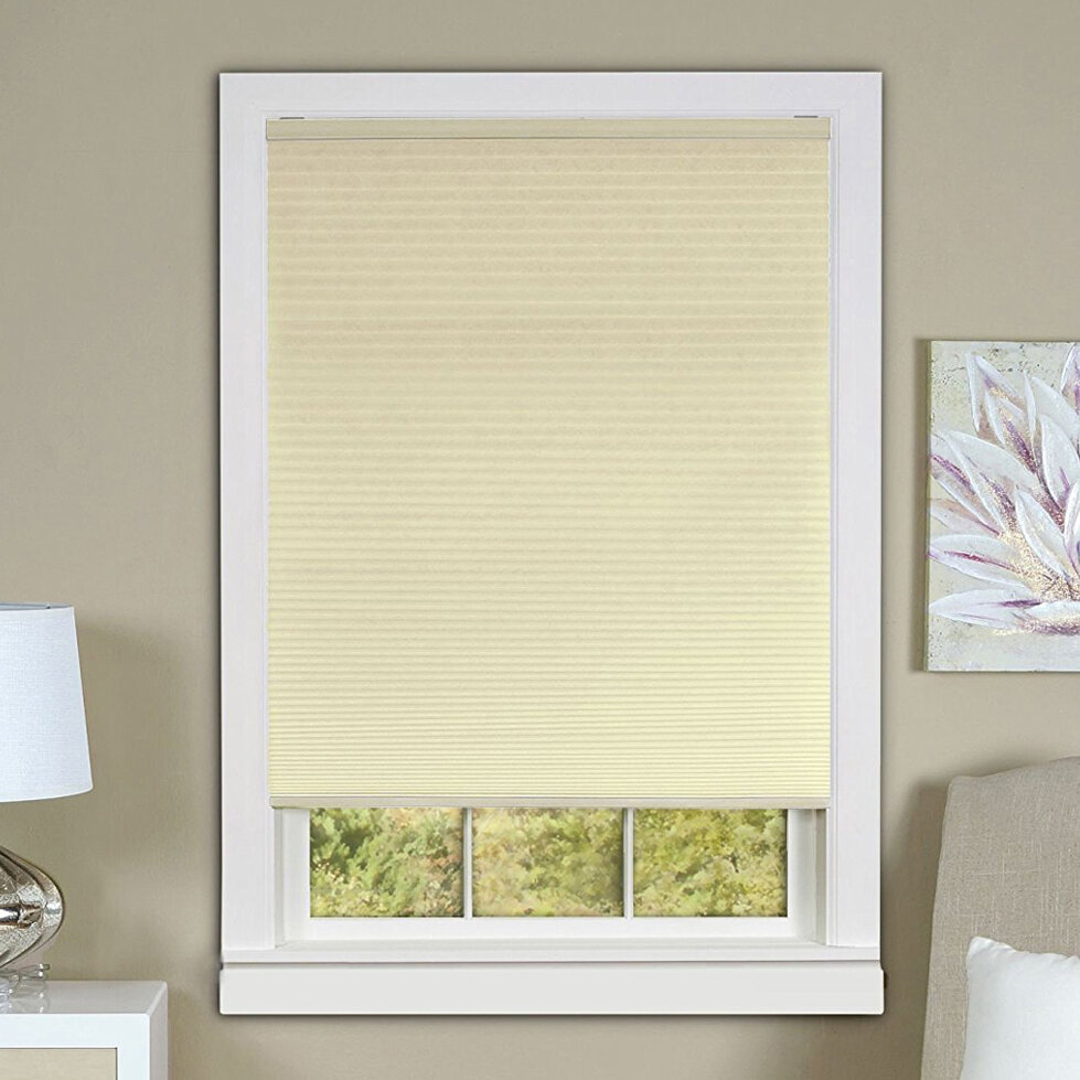 Alcott Hill Cordless Honeycomb Room Darkening Cellular Shades Wayfair