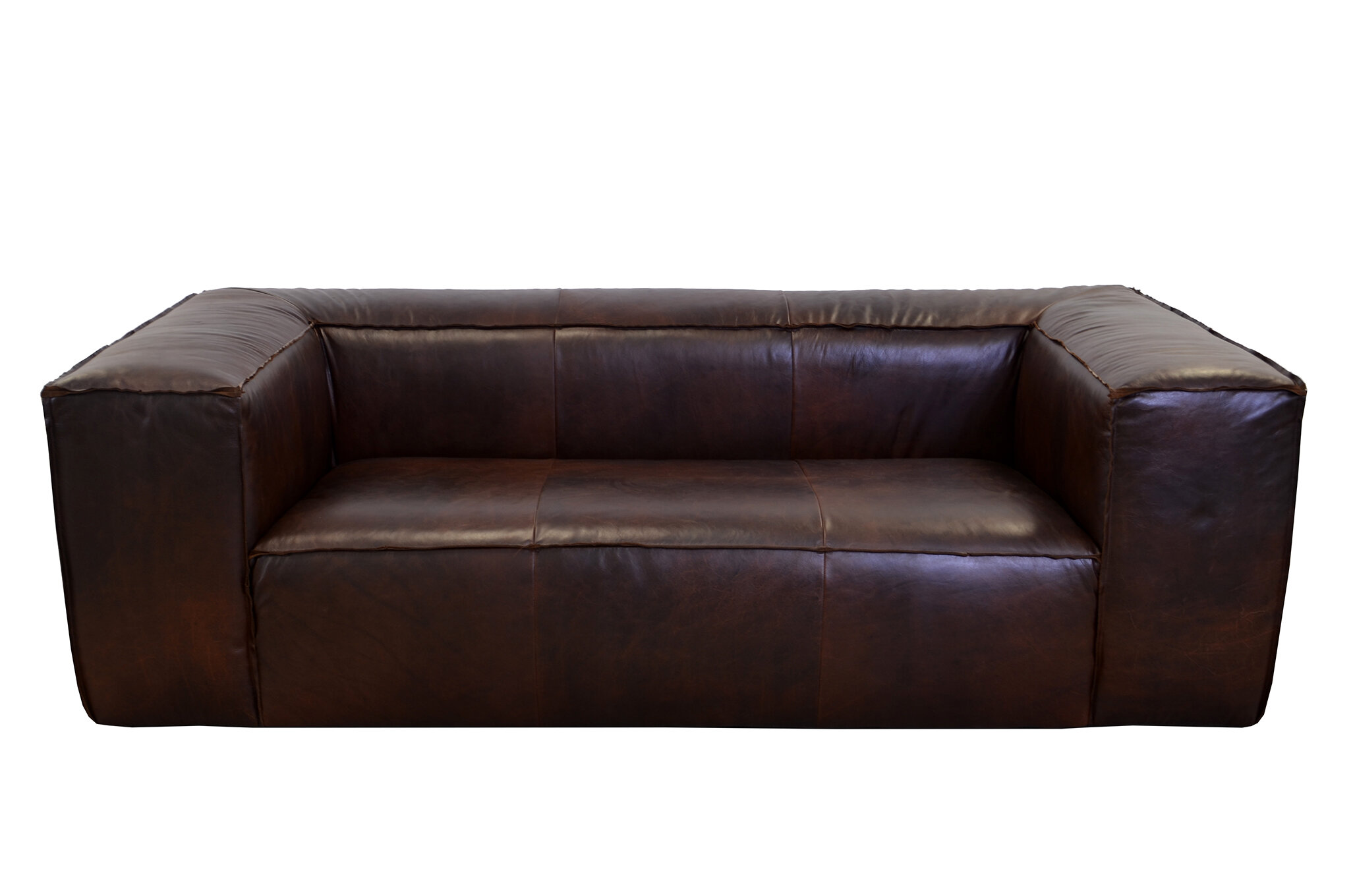 westland and birch lawton leather sofa wayfair - Sofa Leather