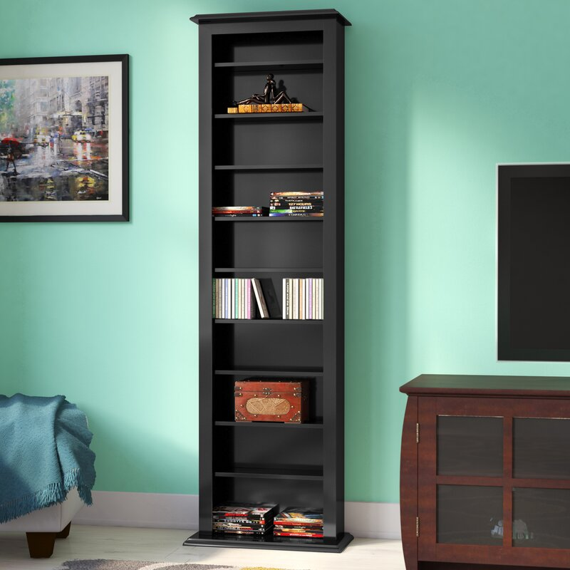 Etonnant Lamb Slim Black Barrister Storage Tower