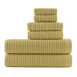 Blair Solid 6 Piece Towel Set