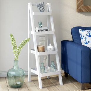 free shipping 0db0f 86a08 White Leaning Ladder Shelf | Wayfair