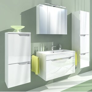 Laura 5 Piece Bathroom Furniture Set von Belfry..