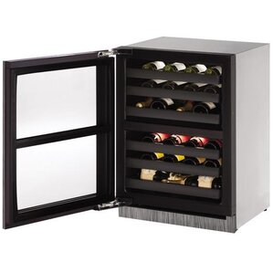 43 Bottle 3000 Series Dual Zone Built-in Wine Cellar by U-Line