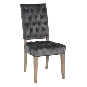 Porterville Upholstered Dining Chair (Set of 2) by Bungalow Rose