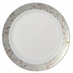 Marble Premium Heavyweight Plastic Disposable Dinner Plate (Set of 50)  sc 1 st  Wayfair & Wedding Disposable Plates | Wayfair