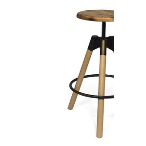 Vineland Adjustable Height Swivel Bar Stool by Trent Austin Design