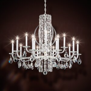 Sarella 15-Light Candle-Style Chandelier
