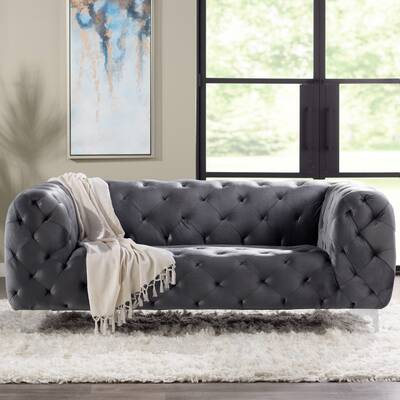 Abadie Tufted Large Chesterfield Sofa Reviews Joss Main