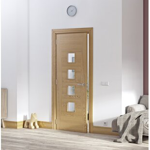Isabelle Solid Wood Gl Slab Fire Door