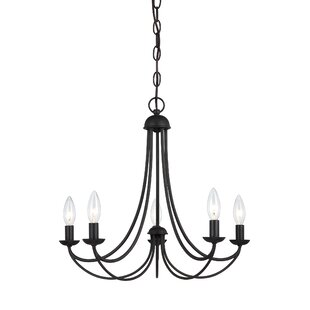 Modern contemporary non electric candle chandelier allmodern emilia candle style chandelier aloadofball Choice Image