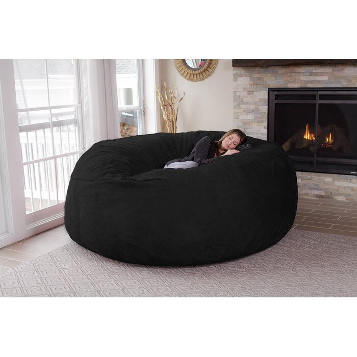 Microsuede Bean Bag Sofa