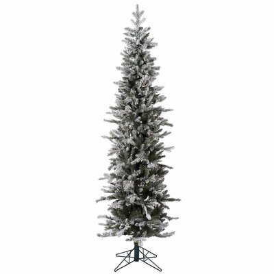 8 Foot Flocked Frosted Branches Christmas Trees You Ll