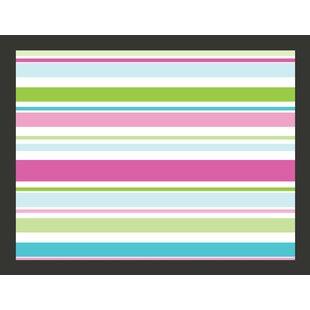 Bright Stripes 1.93m x 250cm Wallpaper by East Urban Home