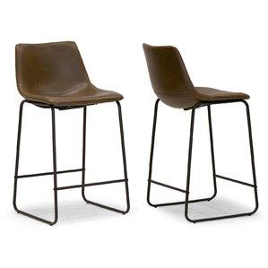 Elmira 23.5  Bar Stool (Set ...  sc 1 st  AllModern & Modern Bucket Seat Bar Stools + Counter Stools | AllModern islam-shia.org