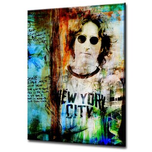 f28aec2325795 Iconic  John Lennon  Graphic Art. by Wrought Studio