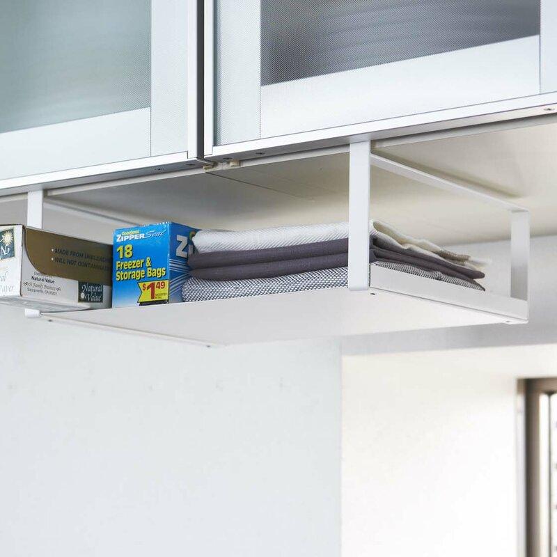 Plate Under Shelf Storage Rack