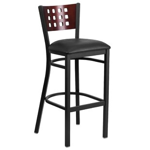 Chafin Cutout Back Metal 32 Bar Stool