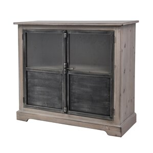 Pheonix Pine Wood 2 Door Accent Cabinet