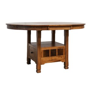 Fresno Solid Wood Extendable Dining Table