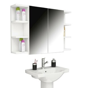 Marquetta 100 x 60cm Wall Mounted Cabinet by Metro Lane
