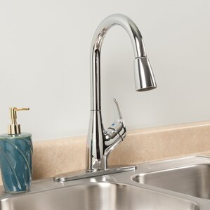 Waxman AquaLife Single Handle Pull-Down K..