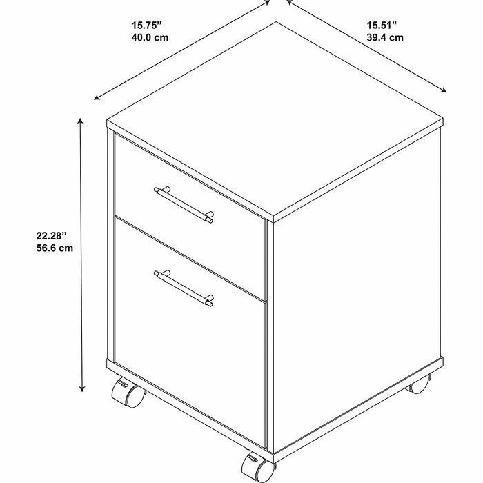 brand new f25ec d45a3 Oridatown 2-Drawer Vertical Filing Cabinet