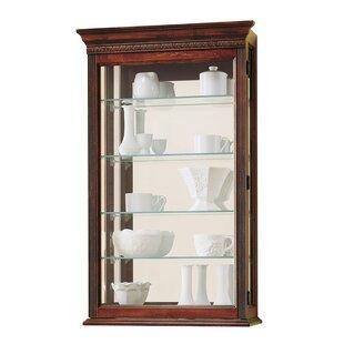 Carmelita Wall-Mounted Curio Cabinet