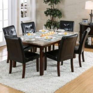 Lutterworth 7 Piece Solid Wood Dining Set