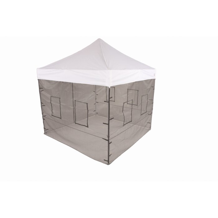 Pop Up Food Service Vendor Canopy Tent Sidewalls  sc 1 st  Wayfair & ImpactCanopy Pop Up Food Service Vendor Canopy Tent Sidewalls ...