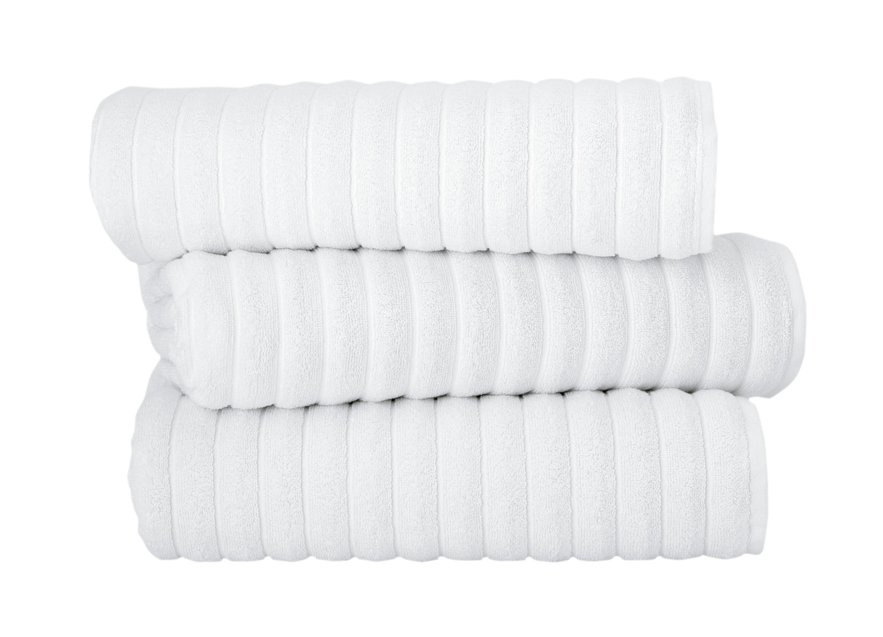 Makroteks Textile Llc Brampton 3 Piece Turkish Cotton Towel Set
