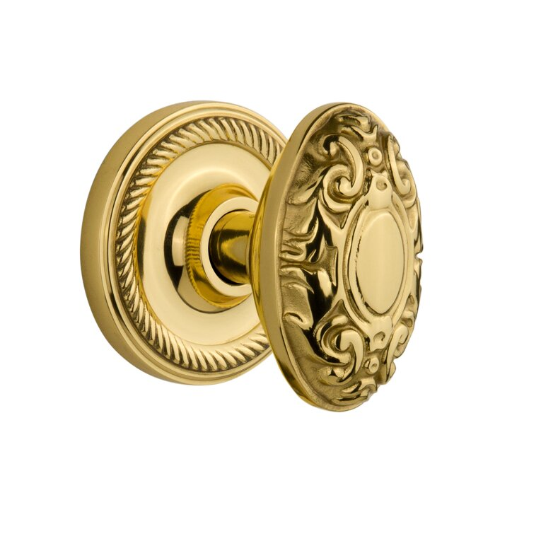 Nostalgic Warehouse Victorian Single Dummy Door Knob with Rope ...
