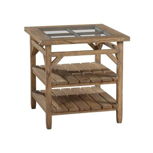 Sutton's Bay Primitive End Table by Hekman