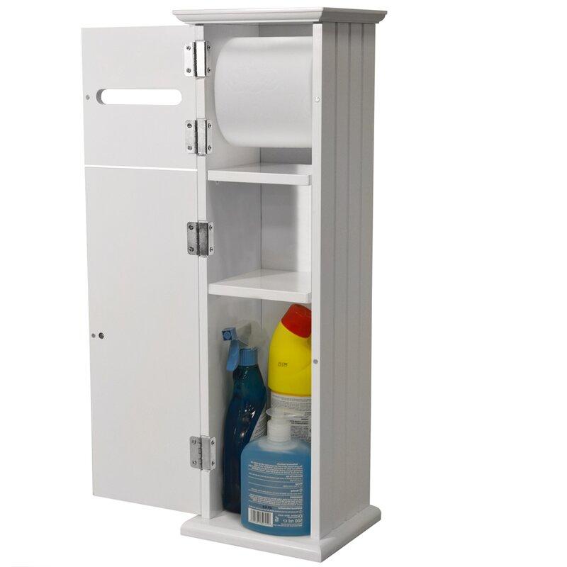 Freestanding Cabinet Toilet Roll Holder
