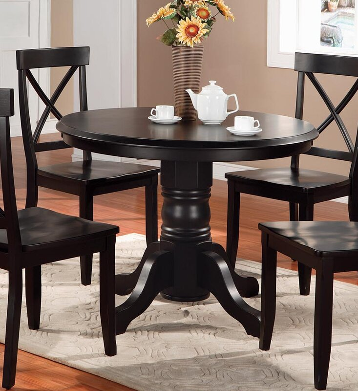 Parkerton Pedestal Dining Table & Reviews | Birch Lane