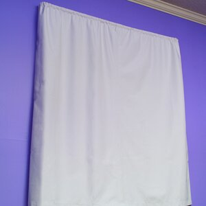 Molly Solid Blackout Rod Pocket Curtain Panels (Set of 2)