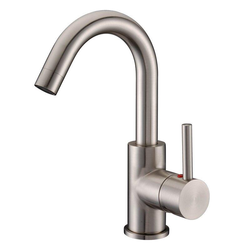 Bathroom Faucet One Hole cadell single handle single hole bathroom faucet & reviews | wayfair