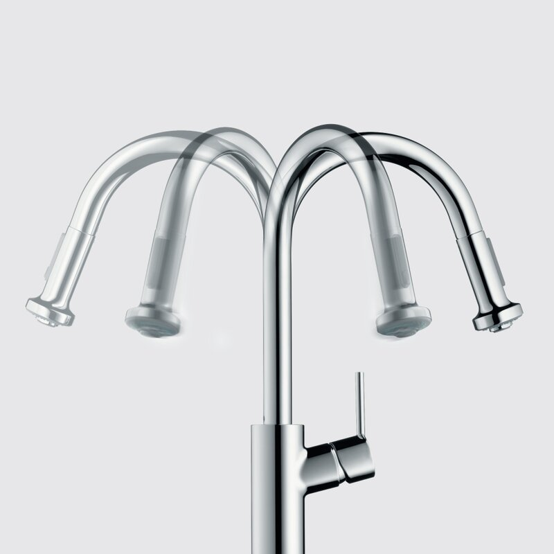 Talis S Pull Down Single Handle Kitchen Faucet
