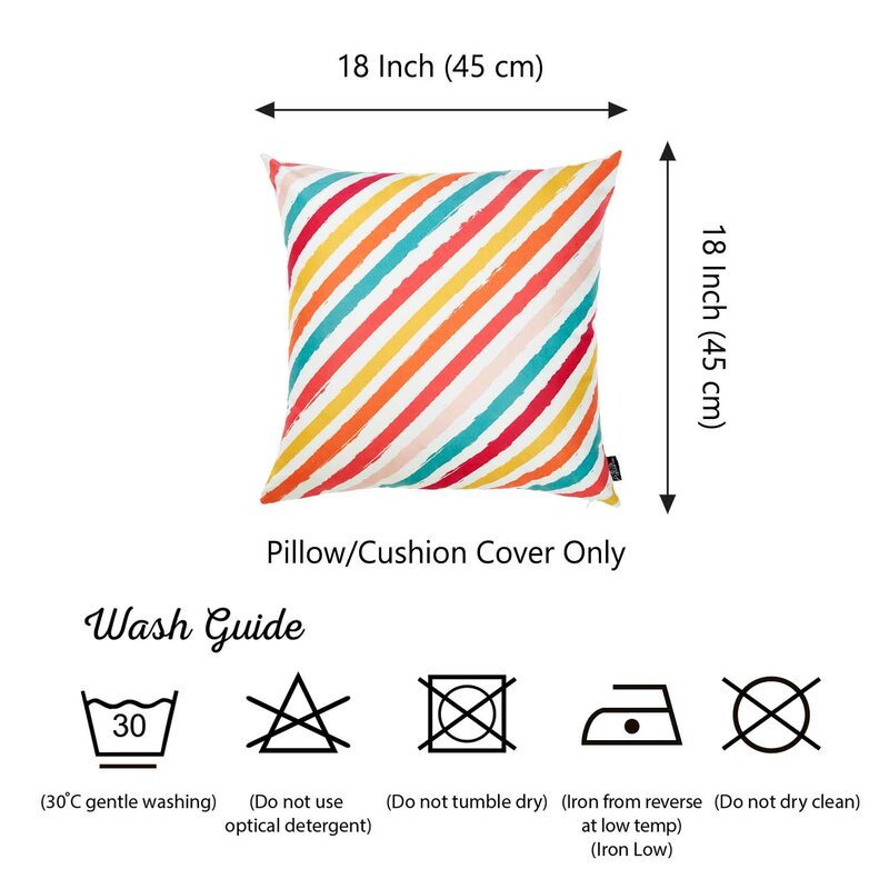 Ricky Diagonal Pillow Cover