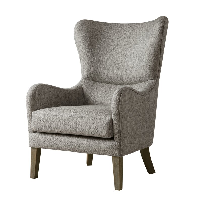 Laurel Foundry Modern Farmhouse Granville Swoop Wingback Chair