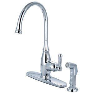 Olympia Faucets Single Handle Deck Mounte..