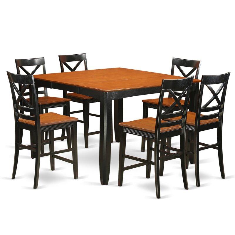 Tamarack 7 Piece Counter Height Pub Table Set