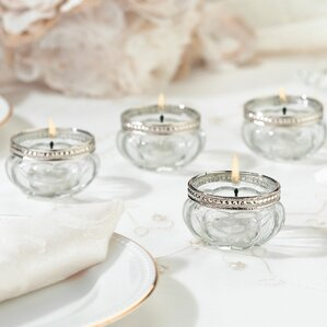 tealight cup set of 4 - Tea Light Candle Holders
