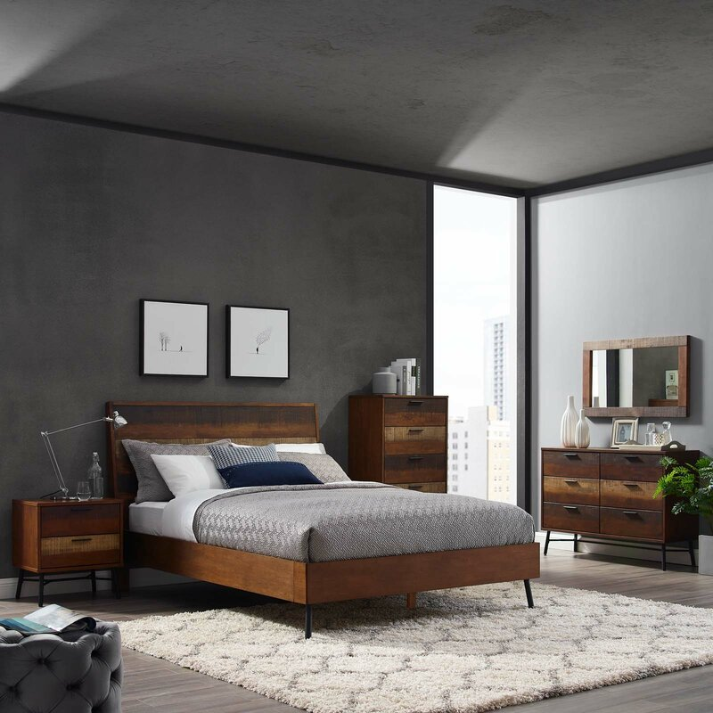 Borman 5 Piece Queen Bedroom Set