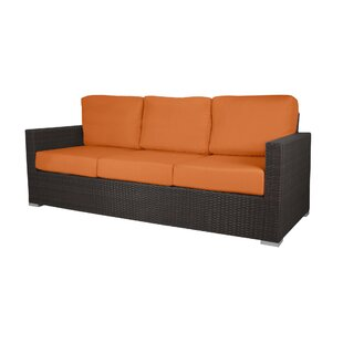 Ronning Patio Sofa With Cushions